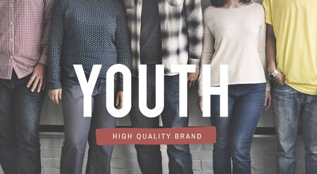 boyhood: Youth Generation Teenager Young Adult Concept Stock Photo