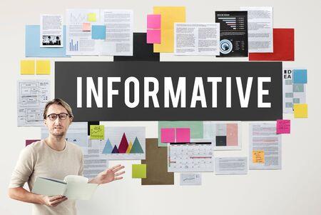 communicatie: Informatieve Communications Verbindingsgegevens Concept