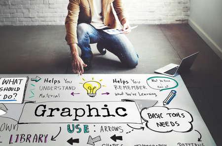 visual: Graphic Creative Design Illustrative Visual Image Concept