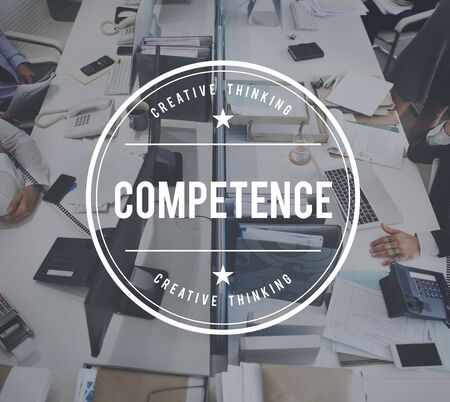 capability: Competence Performance Capability Ability Concept Stock Photo