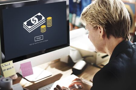 bringing home the bacon: Money Currency Economy Financial Banking Concept Stock Photo
