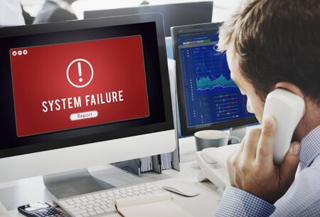 Failure Attacked Hacked Virus AbEnd Concept
