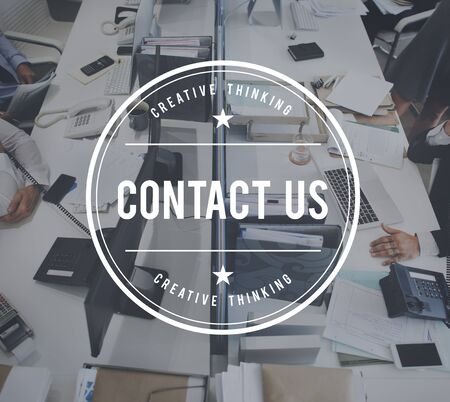 enquiry: Contact Us Communication Enquiry Information Support Concept
