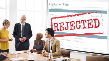 failed strategy: Declined Rejected Disagreement Rejection Concept