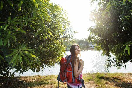 wanderlust: Wanderlust Traveler Lifestyle Nature Trip Concept