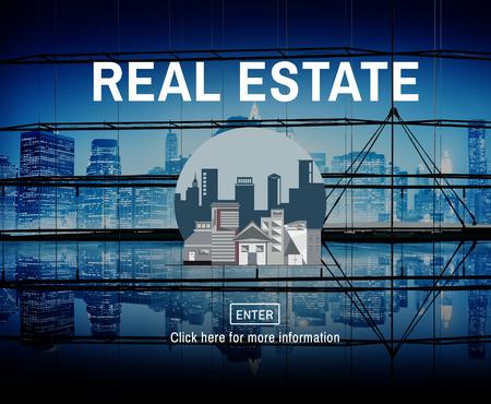 building estate: Architecture Real Estate Building Concept