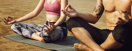 concentration: Yoga Meditation Concentration Peaceful Serene Relaxation Concept