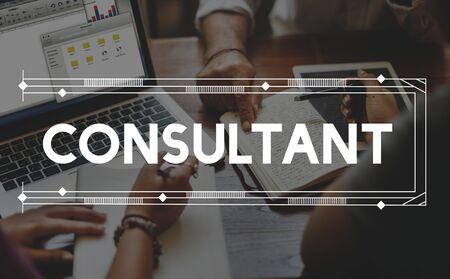 Consult Berater Beratung Beratung Hilfe-Konzept