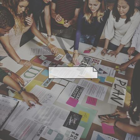 Group of People Planning Creative Ideas Concept Zdjęcie Seryjne - 59418029