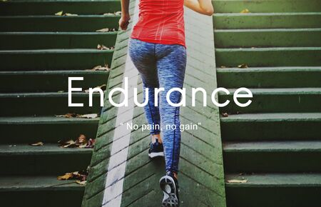 endurance: Endurance Strength Energize Stability Performance Concept