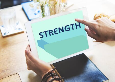 theory: Strength Analysis Maketing Planning Theory Swot Concept Stock Photo