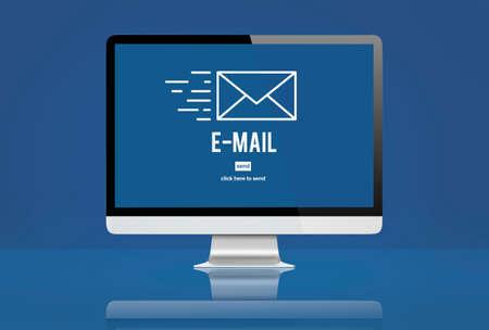correspondencia: Sobre de correo electr�nico correspondencia Concepto de Datos