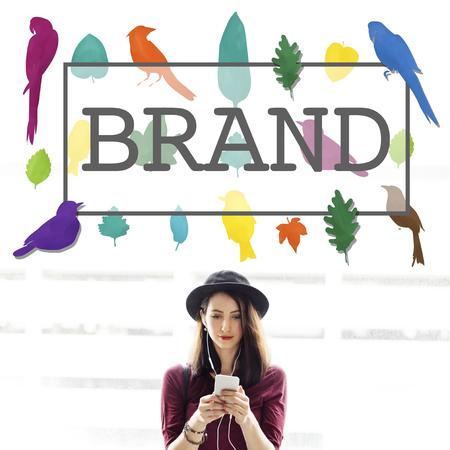 trademark: Brand Branding Trademark Copyright Concept