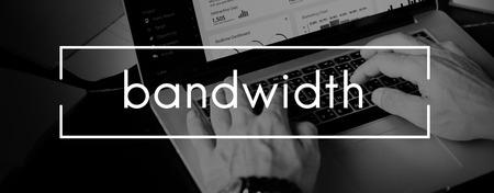 internet  broadband: Bandwidth Broadband Computer Network Internet Concept