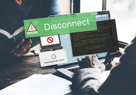 disconnect: Error Disconnect Caution Inaccesible AbEnd Concept