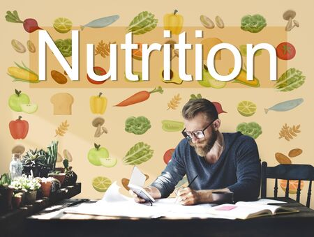 Nutrition Food Diet Healthy Life Concept