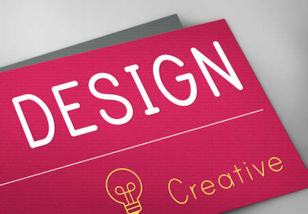 be the identity: Design Creative Inspiration Ideas Concept Stock Photo
