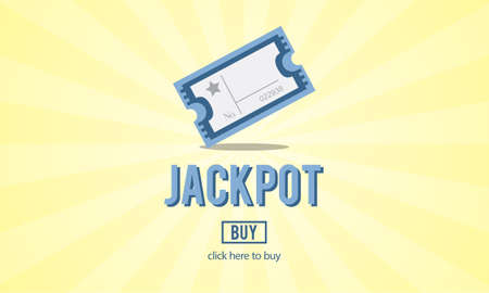 jackpot: Enter to Win Gambling Jackpot Luck Concept