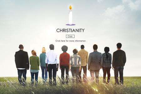 Christianisme Jésus-Christ Croyez Foi Dieu Religion Concept