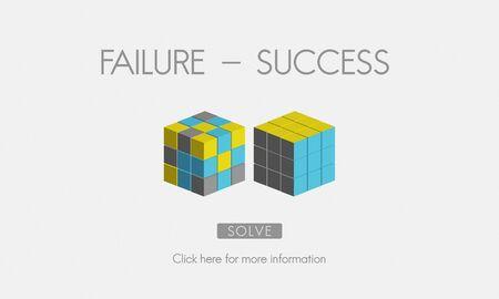 fiasco: Failure Success Achievement Excellence Failing Concept Stock Photo