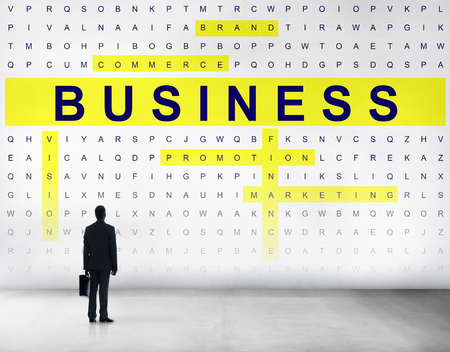 crossword: Crossword Puzzle Game Strategy Business Concept