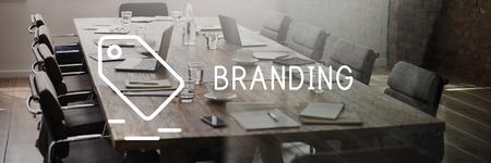 trademark: Branding Marketing Trademark Label Concept