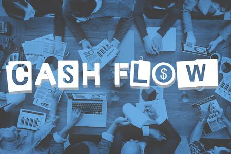 cash flow: Cash Flow Money Currency Economy Finance Investment Concept Stock Photo