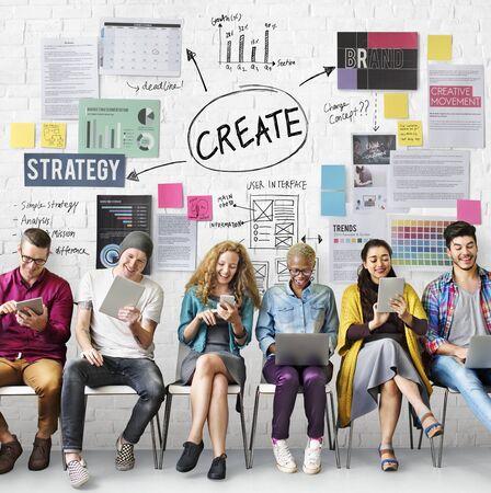 create: Create Design Strategy Vision Concept