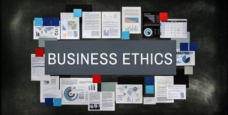 ethnics: Business Ethnics Corporate Social Responsibility Concept