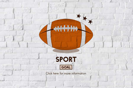 football tackle: Football Touchdown Sport Graphics Concept