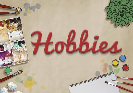 freetime: Hobbies Hobby Leisure Activity Freetime Pleasure Concept