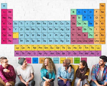 mendeleev: Periodic Table Chemical Chemistry Mendeleev Concept