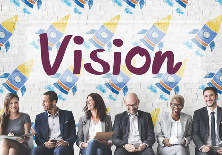 vision business: Vision Planning Motivation Organization Business Concept