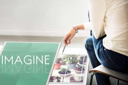 creativity: Imagine Creativity Imagination Thinking Concept