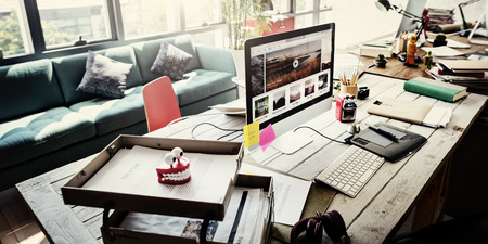 home office: Home Office Appliance Workspace Workplace Concept