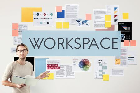 bureaucratic: Document Marketing Strategy Business Concept Stock Photo