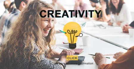 inspire: Creativity Ideas Inspire Innovation Concept