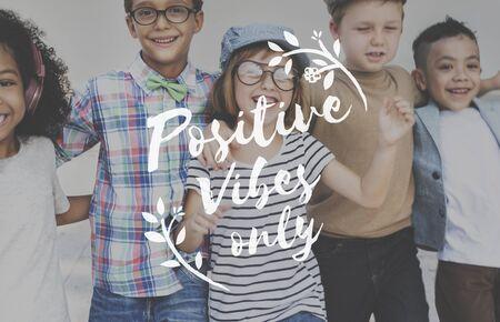 girl  friend: Positive Attitude Motivation Inspiration Thinking Concept