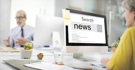 news update: News Update Information Report Search Concept