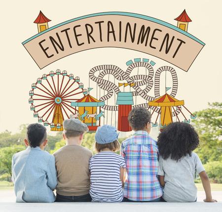 charm: Entertainment Charm Enjoyment Thinking Act Concept