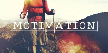 enthusiasm: Motivation Encourage Enthusiasm Stimulus Motivate Concept