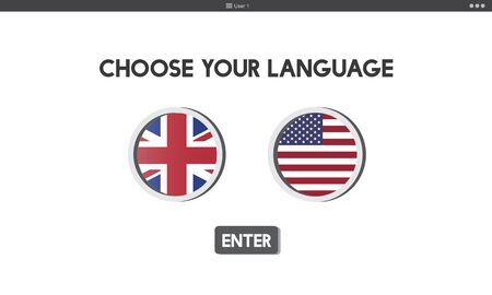 faction: Language Dictionary English American Concept
