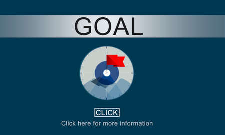 aspiration: Goal Inspiration Achievement Aspiration Concept