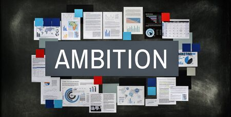 opportunity discovery: Ambition Courage Discovery Dream Finding Future Concept