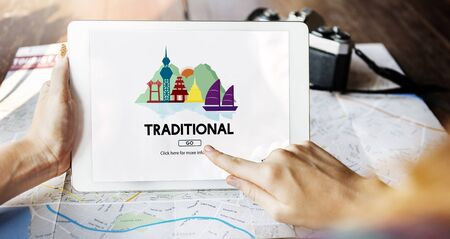 norms: Cultural Travel Locations Shrine Traditional Concept