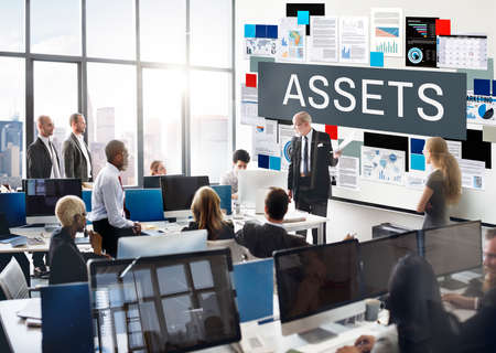Assets Value Property Financial Concept