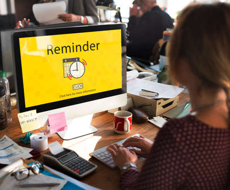 reminder: Calendar Reminder Priority Note Date Concept