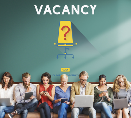 blankness: Vacancy Job Available Vacant Job Concept