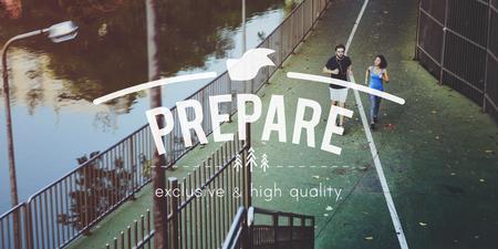 formulate: Prepare Preparation Ready Readiness Provide Concept Stock Photo