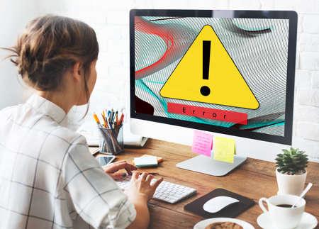 halted: Error Disconnect Warning Failure AbEnd Concept